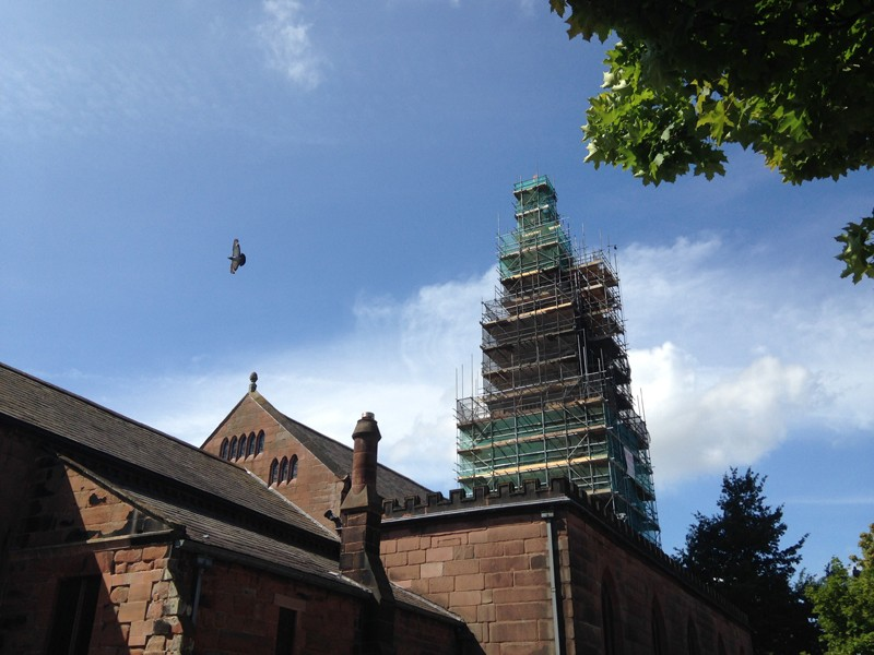 What's Happening to the Church Tower?