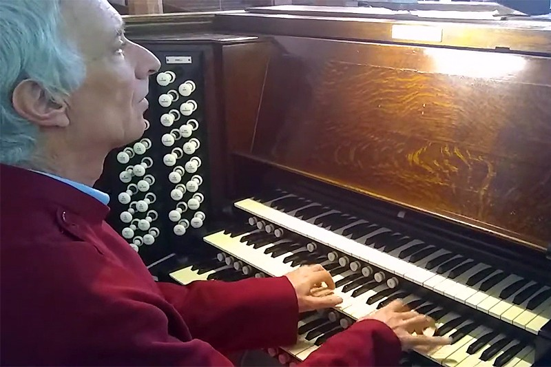 Parish Organist Celebrates Milestone Year