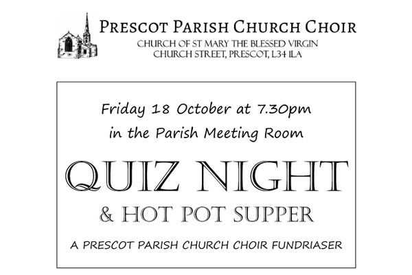 Quiz Night & Hot Pot Supper
