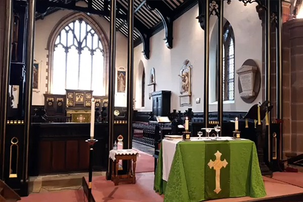 Eucharist for the 8th Sunday after Trinity