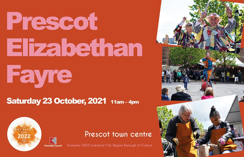 Prescot Elizabethan Fayre, 23 October 2021